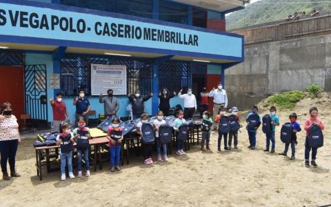 DONACIÓN DE INTERNET SATELITAL PARA REFORZAR LA EDUCACIÓN EN MEMBRILLAR