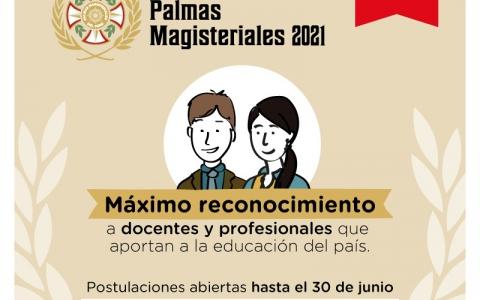 Se inicia inscripción de candidatos a Palmas Magisteriales 2021