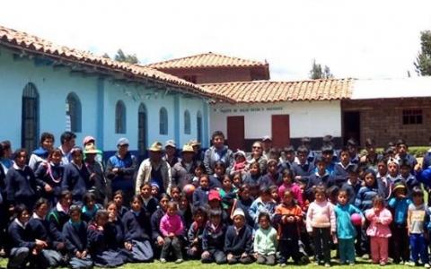 65 estudiantes de secundaria serán beneficiados con la ampliación de nivel de su colegio en el  Caserío Oriente Huaychaca en Julcán